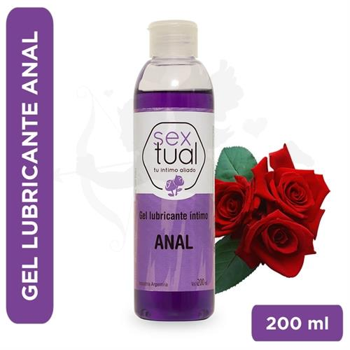 Gel anal con aroma a rosas 200 ml